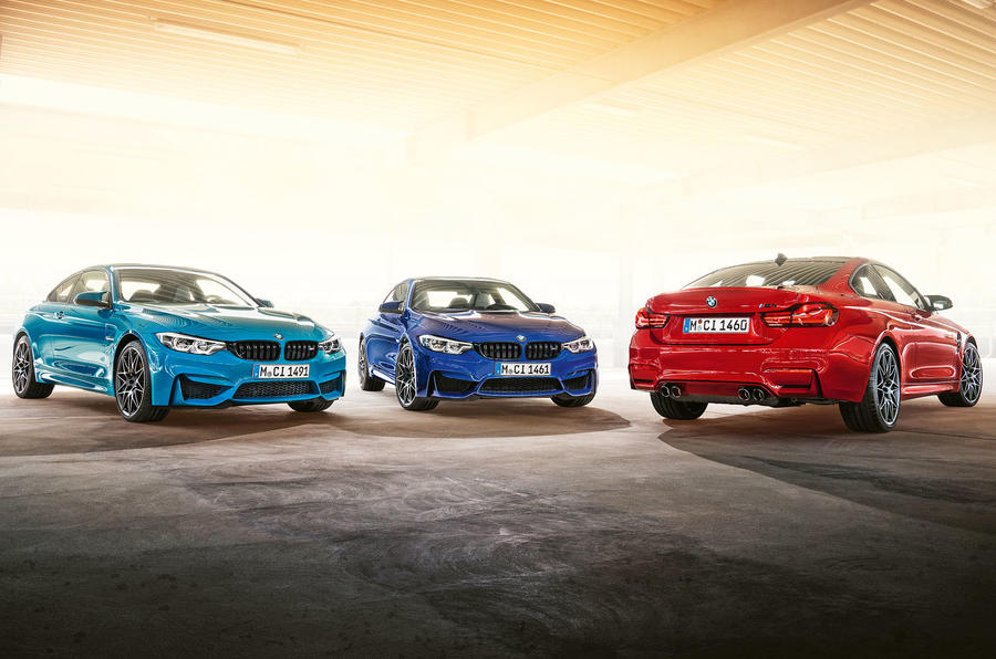 BMW M4 Edition M Heritage official press - hero rear
