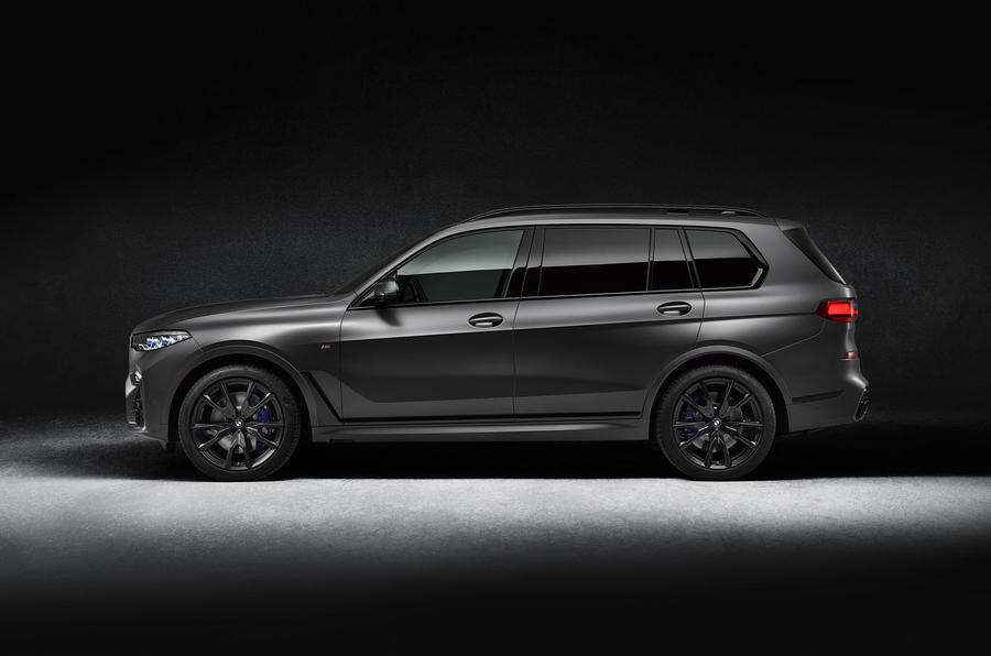 BMW X7 Dark Shadow Edition revealed