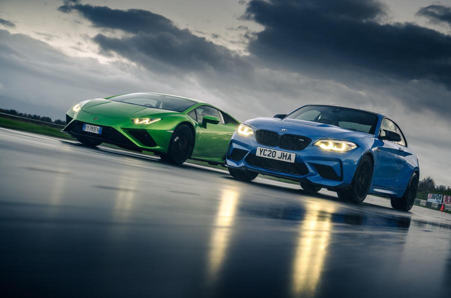 Britain's best drivers car 2020 - Lamborghini vs BMW