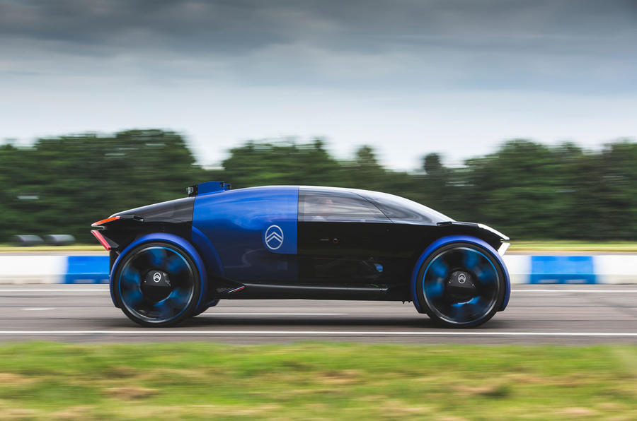Citroen 19_19 concept prototype drive - hero side