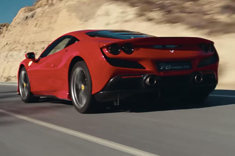 Ferrari F8 Tributo 2019 first ride review - hero rear