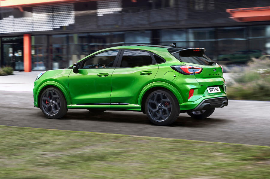 Ford Puma ST official images - tracking side