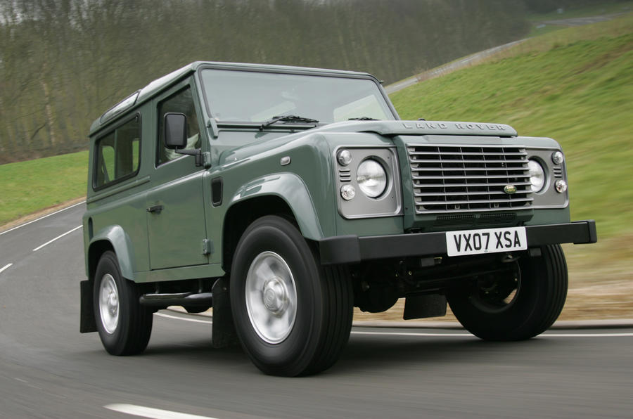 9 Future Classic SUVs - Land Rover Defender