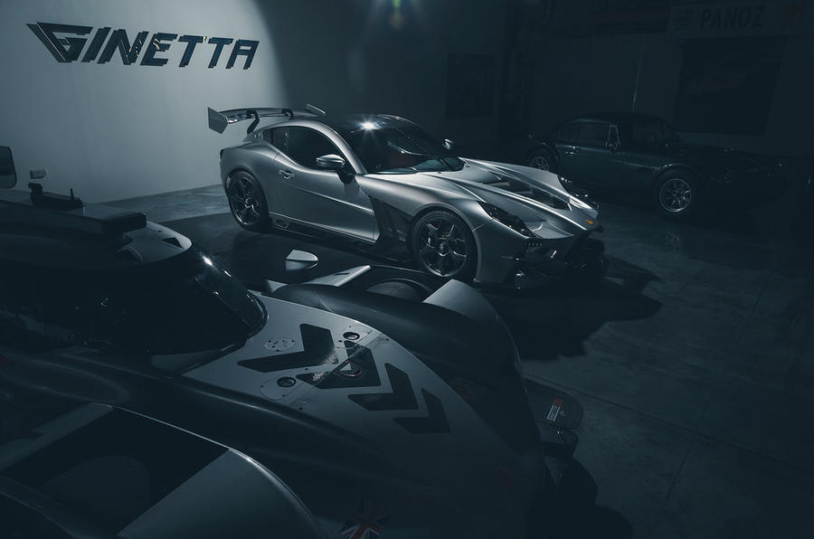 Ginetta supercar reveal exclusive pictures - front