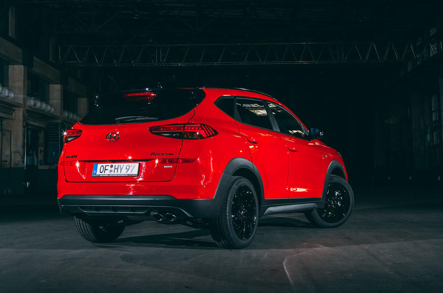 Hyundai Tucson N Line revealed with stiffened chassis ...