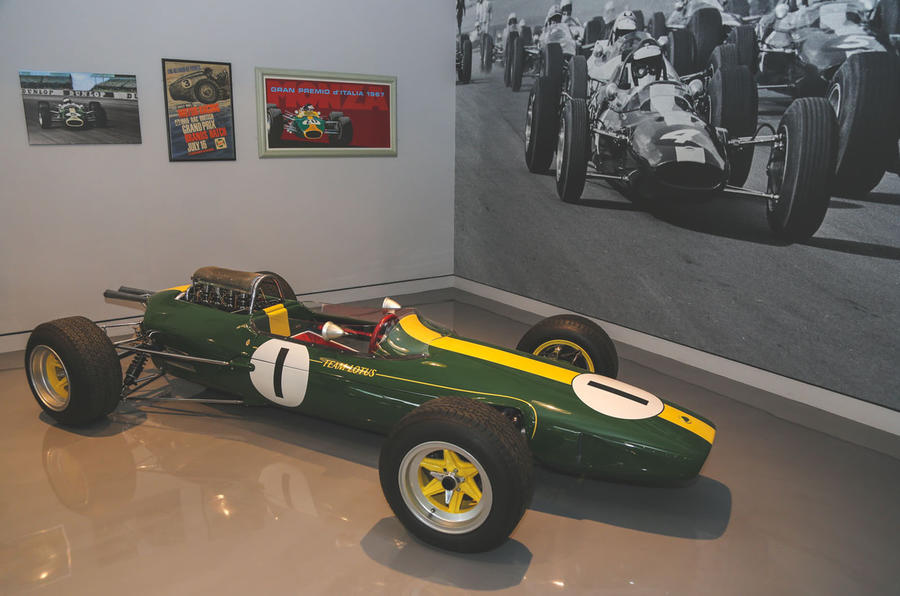 Jim Clark Museum preview day - F1 car