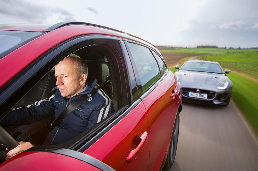 Jaguar Land Rover Cross Country - tracking