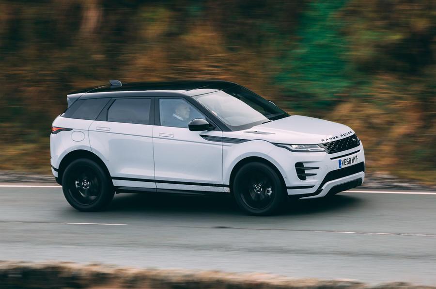 first ride 2019 land rover range rover evoque autocar. Black Bedroom Furniture Sets. Home Design Ideas