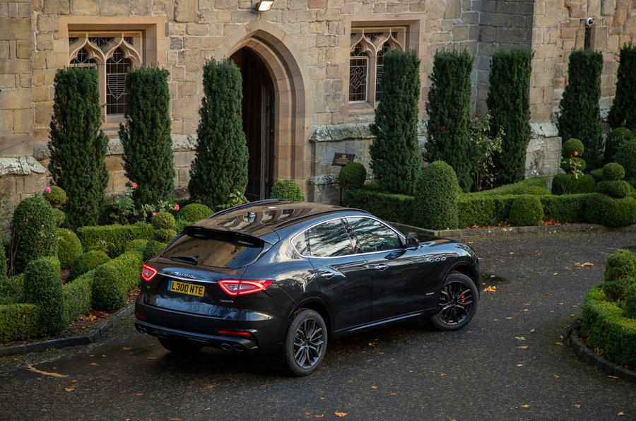 Maserati Levante GranSport V6 2018 first drive - static rear