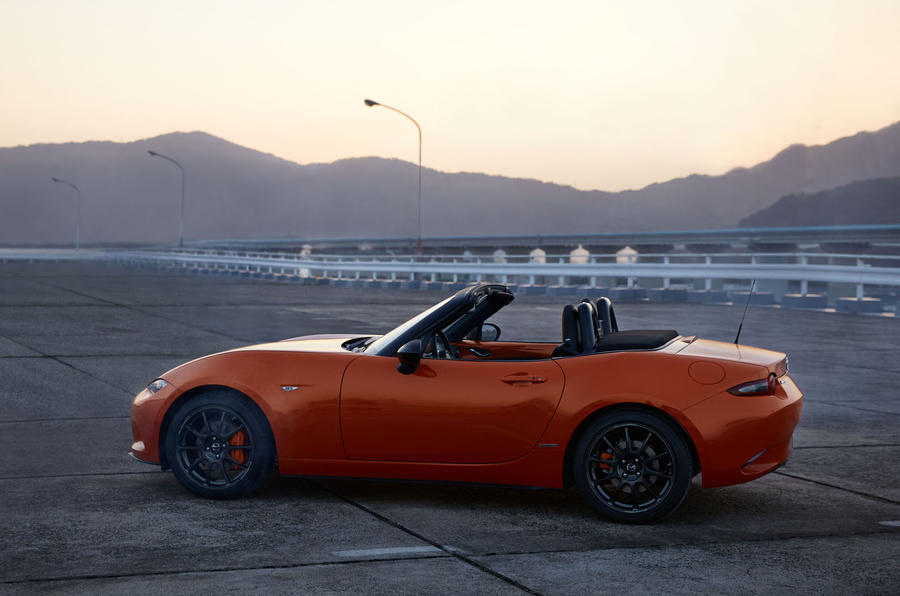 Mazda MX-5 30th Anniversary edition 2019 press photos - hero side