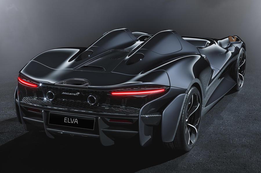 McLaren Elva official reveal - static rear