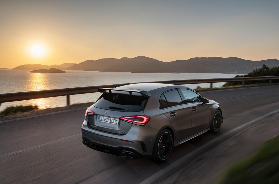 Mercedes-AMG A45 S and CLA45 S revealed … with 310 kW each!