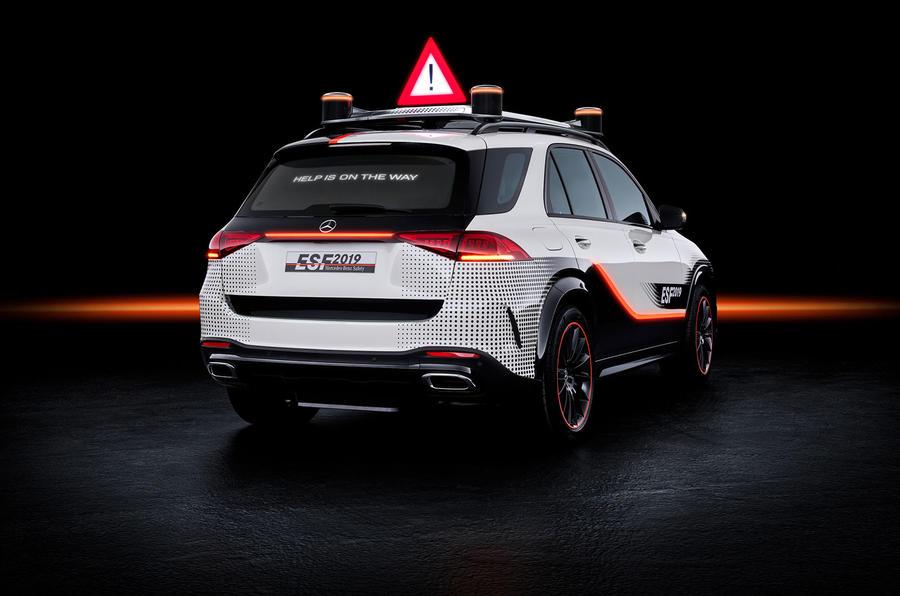 Mercedes-Benz ESF 2019 concept - official press images - hero rear