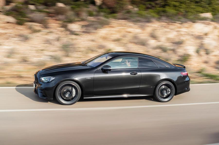 Mercedes-Benz E Class coupe 2020 facelift- official images- side