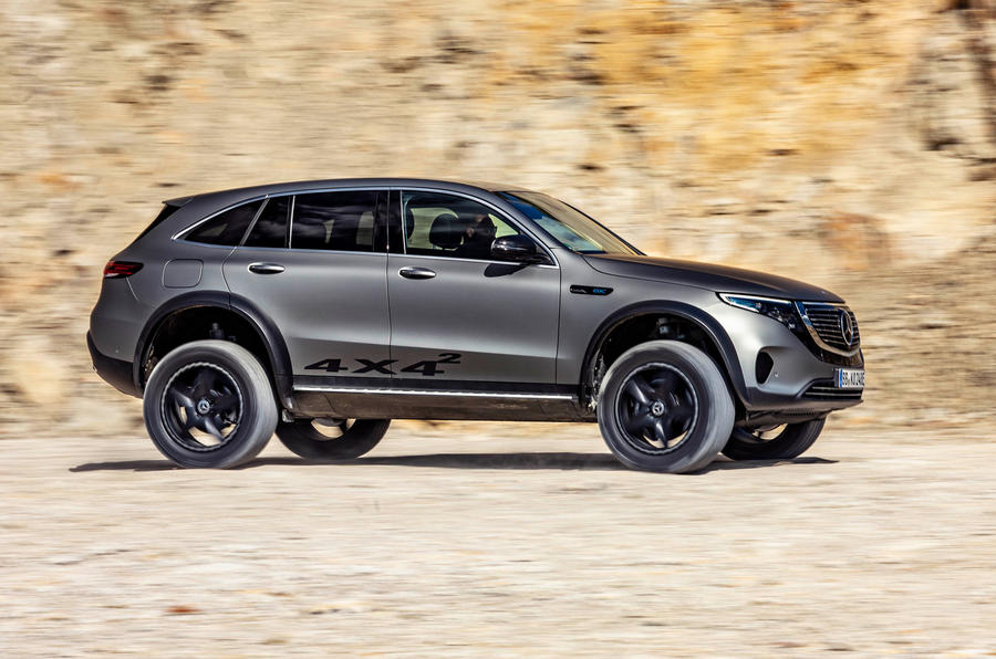 Mercedes-Benz EQC 4X4² concept revealed - hero side
