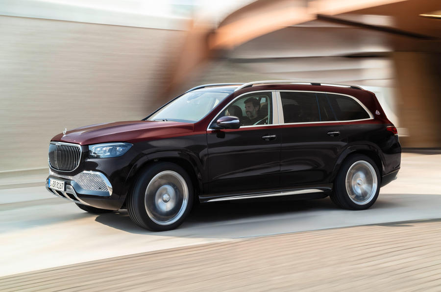 Mercedes-Maybach GLS 600 official press images - hero side