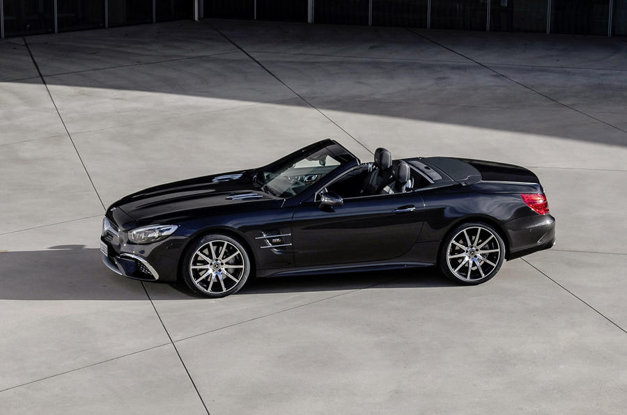 Mercedes SL Grand Edition official press - hero side