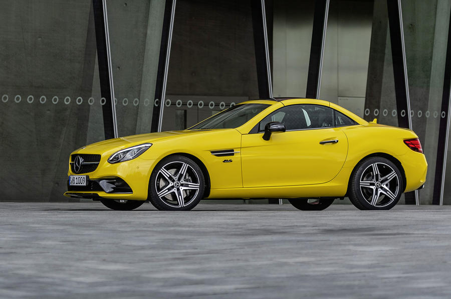 Mercedes-Benz SLC final edition official press - hero side
