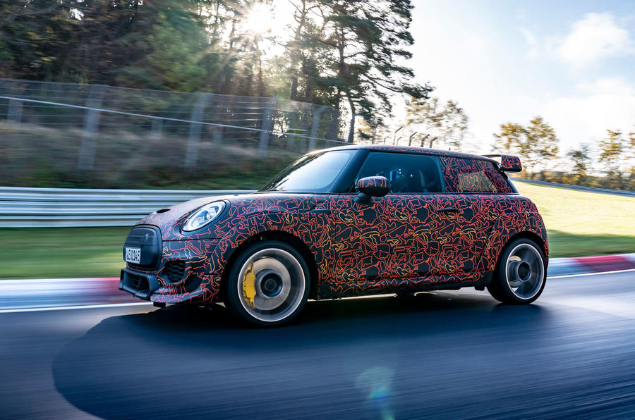 Mini JCW GPE prototype official images - side