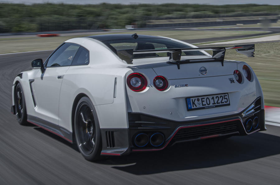 Nissan GT-R Nismo 2020 official reveal - hero rear