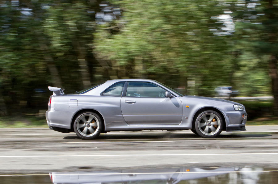 Nissan Skyline GT-R R34 used buying guide - side