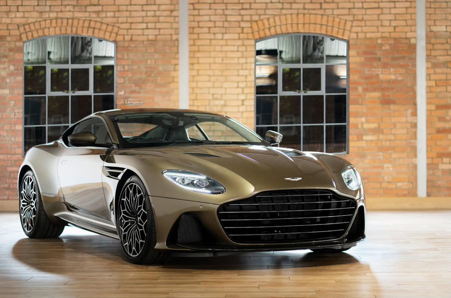 Aston Martin On Her Majesty's Secret Service Superleggera - front