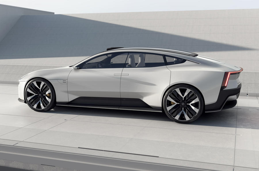 Polestar Precept concept official images - static side