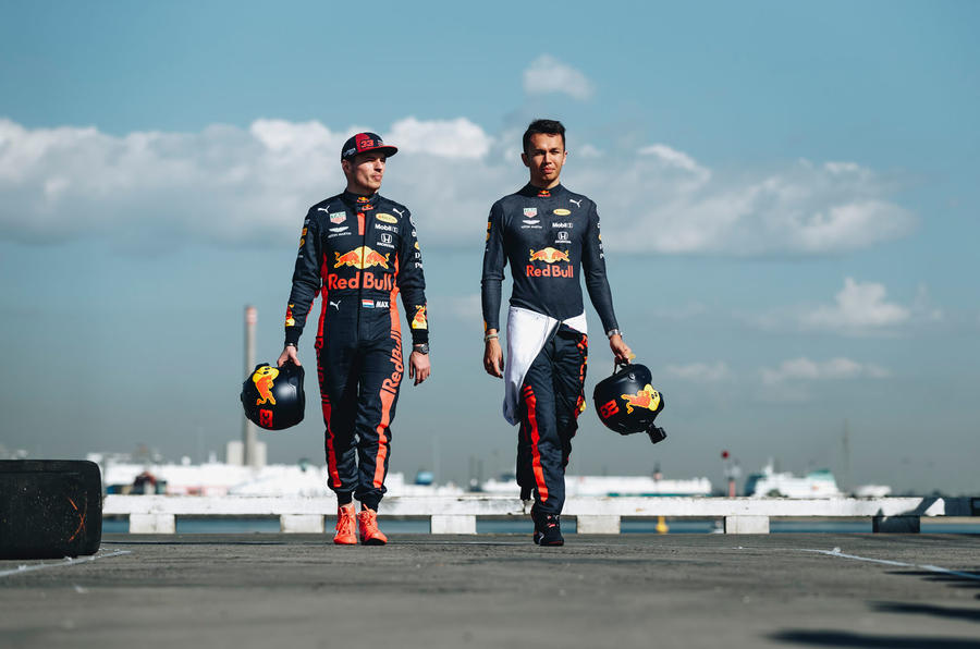 Beyond the scenes of Red Bull-Honda - drivers