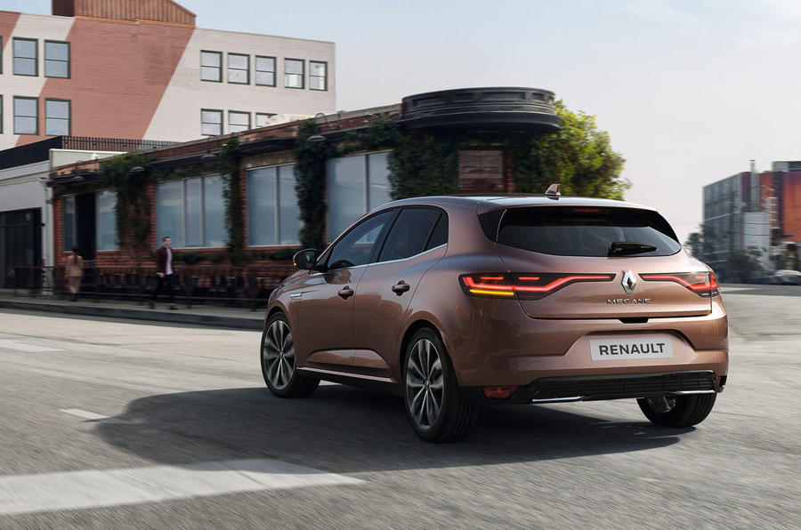 Renault megane 2020 refresh - hero rear