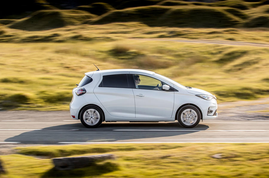 Renault Zoe van 2020 official images - hero side