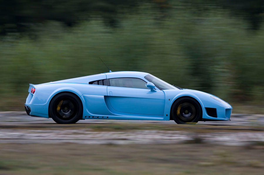 Road test rewind: Noble M600 - tracking side