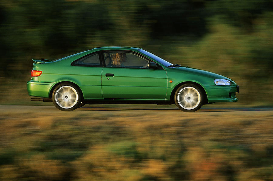 James Ruppert on Coupes - Toyota Paseo
