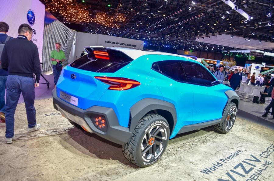 Subaru Viziv Adrenaline concept Geneva 2019 - rear