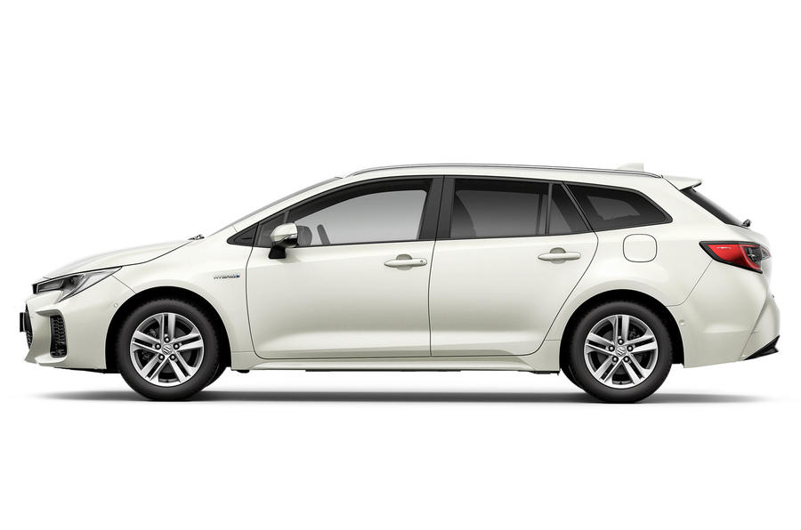 Suzuki Swace official press images - side