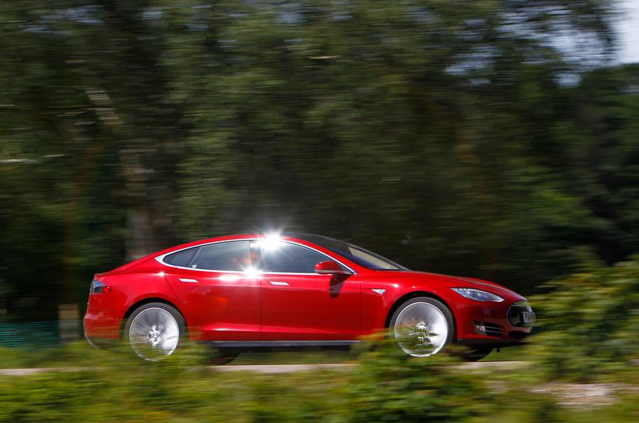 Tesla Model S road test rewind - hero side