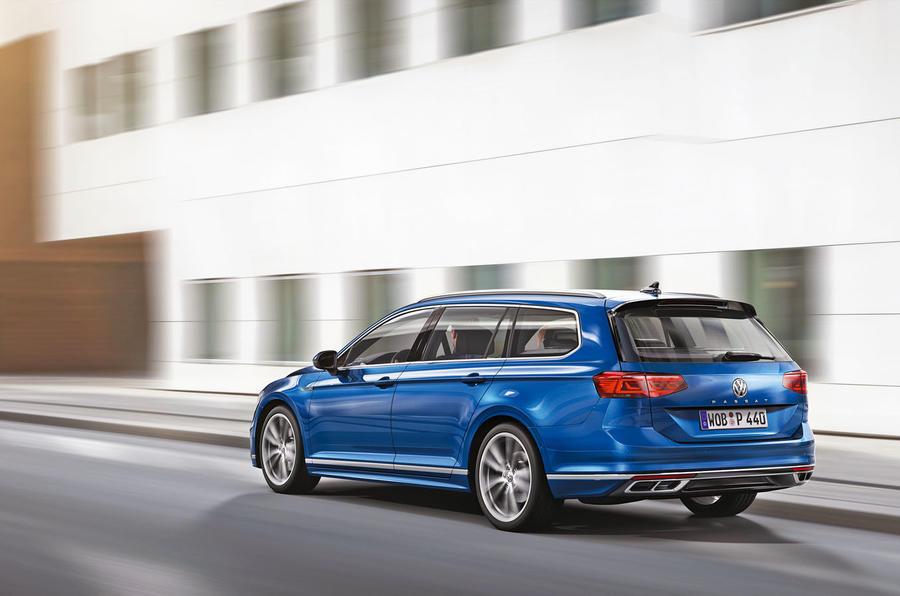 Volkswagen Passat 2019 press - rear