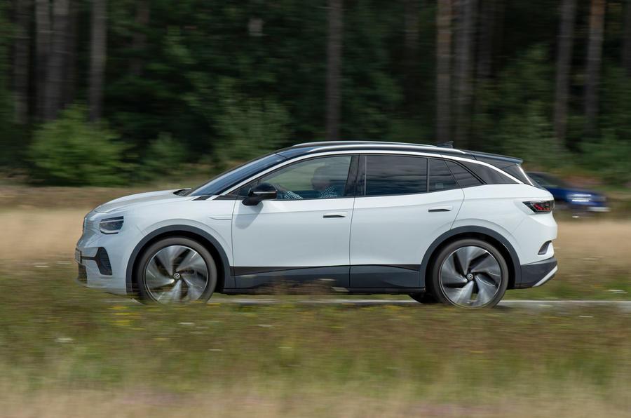 2021 Volkswagen ID 4 prototype drive - hero side