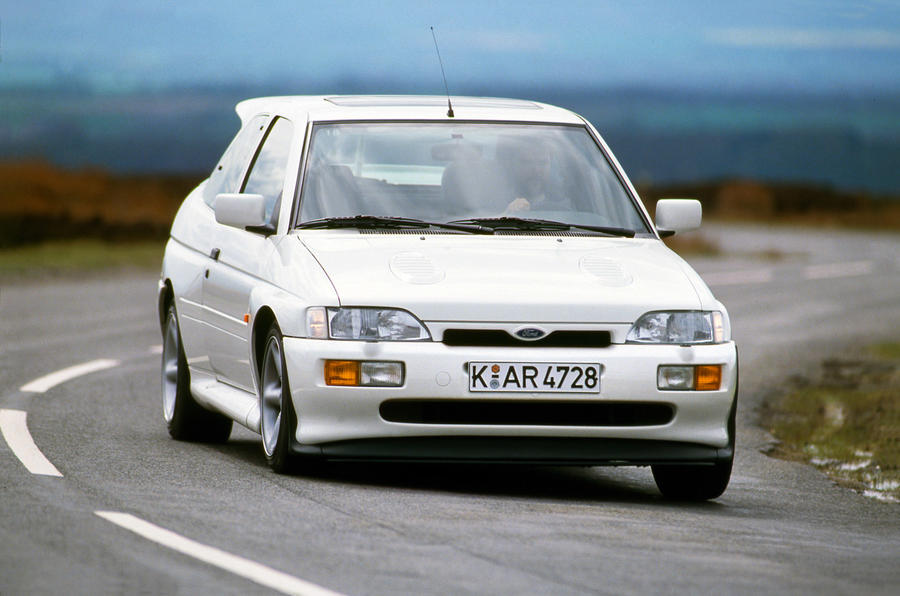 Ford Escort Cosworth 1992 - tracking front