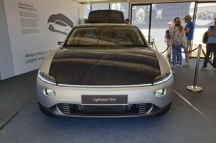 Lightyear One at Goodwood 2019 - nose