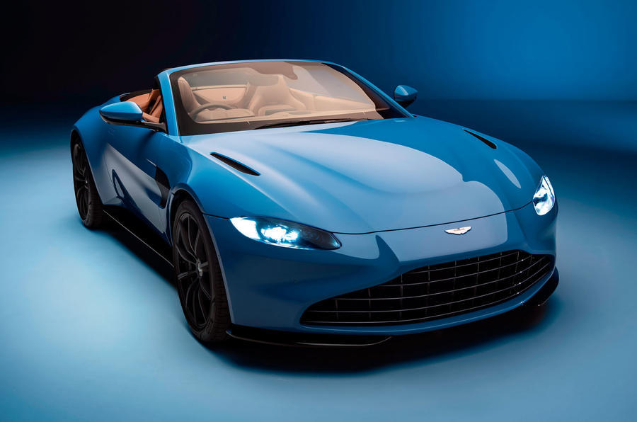 Aston Martin Vantage Roadster 2020 - official front
