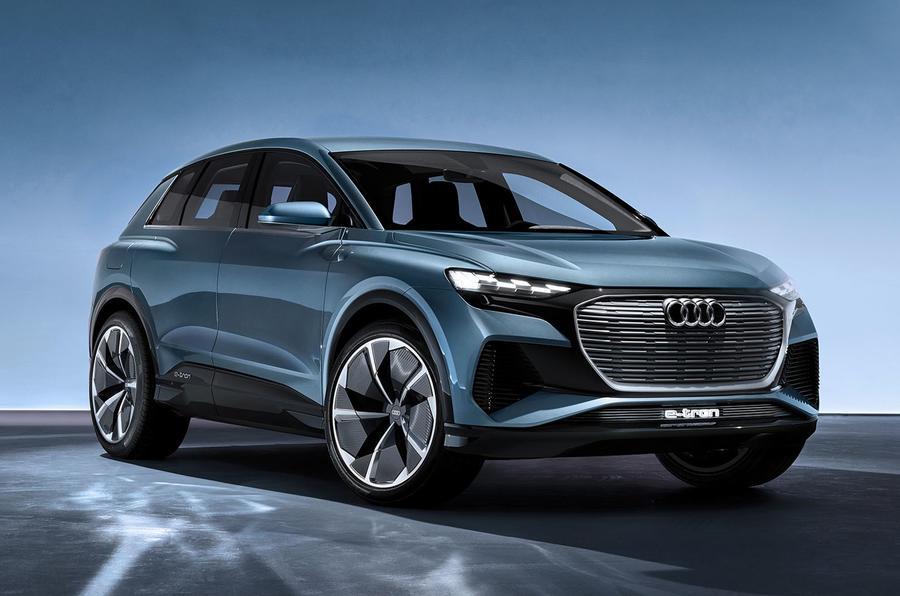 Audi reveals Q4 e-tron electric SUV ahead of 2020 sale ...