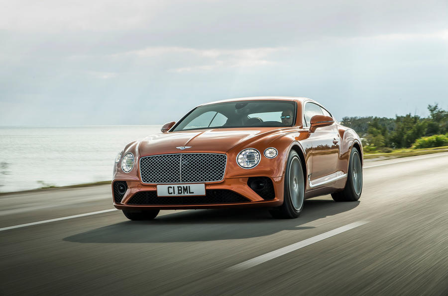New Bentley Continental GT V8 is most agile yet