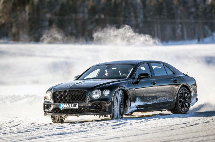 Bentley Flying Spur 2020 development ride - hero front