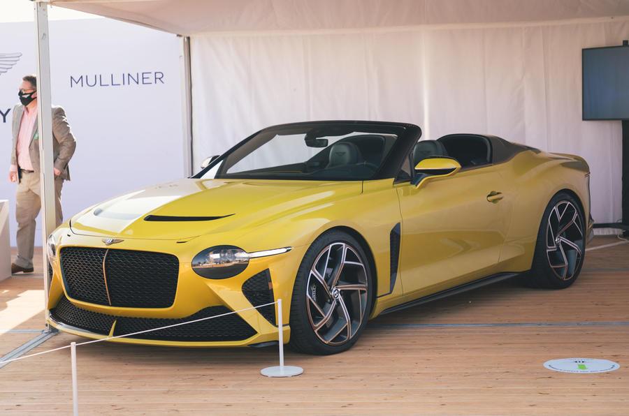 Bentley Mulliner Bacalar - front