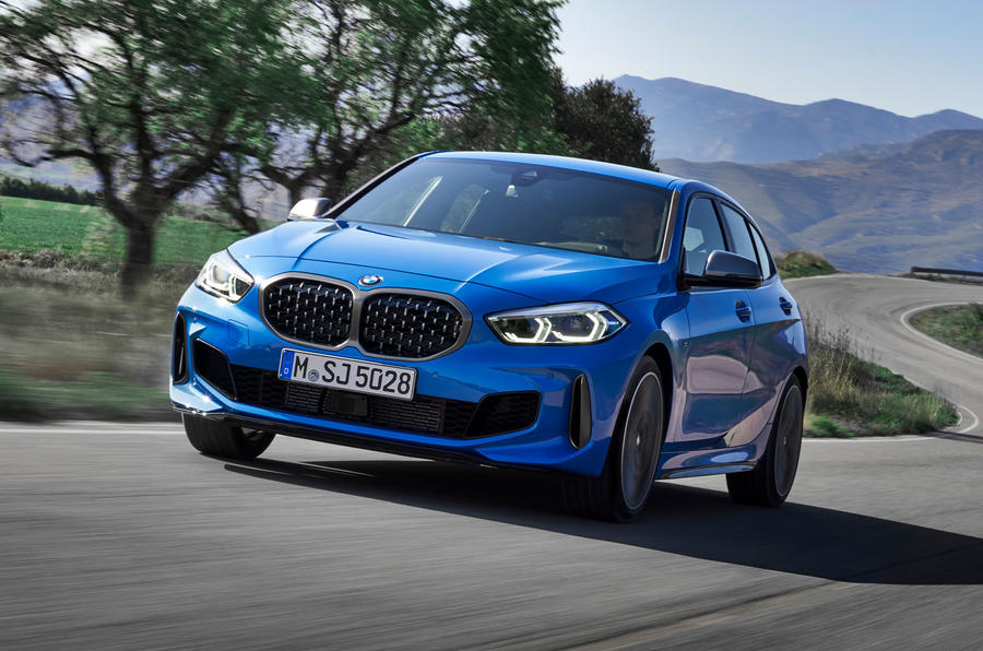BMW 1 Series 2019 official reveal - hero front