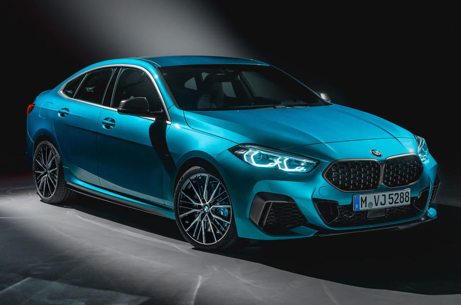 BMW 2 Series Gran Coupé studio reveal - front