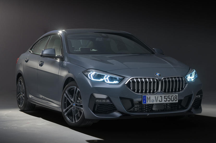 BMW 2 Series Gran Coupe studio static - front