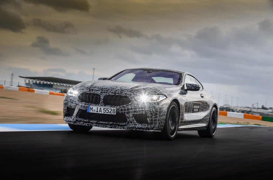 2019 BMW M8 prototype ride - hero front