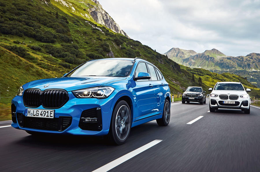 BMW X1 PHEV official press photos - hero front