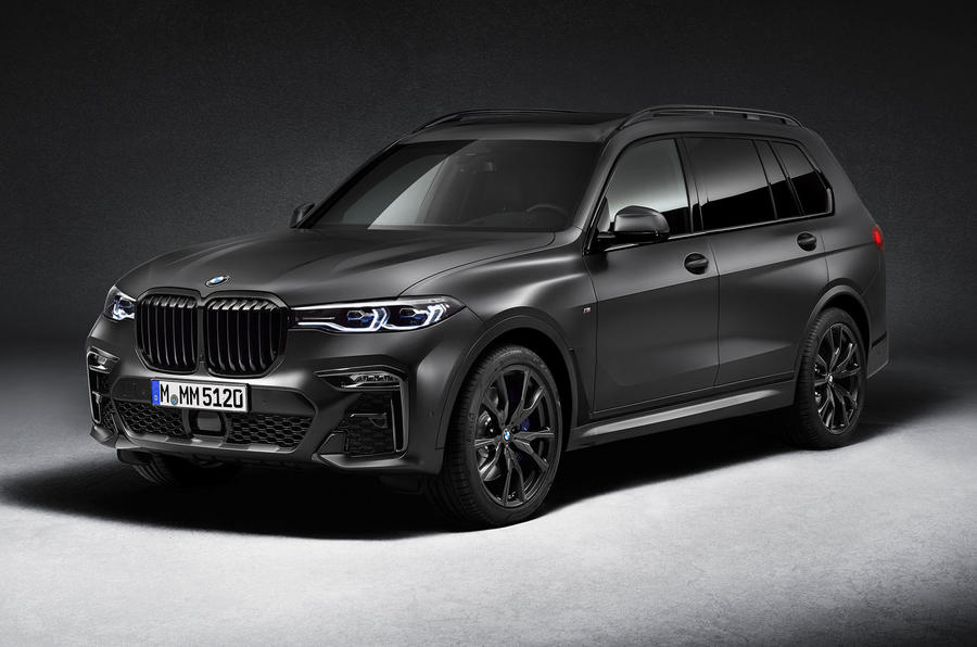 BMW X7 Dark Shadow Edition 2020 official images - lead